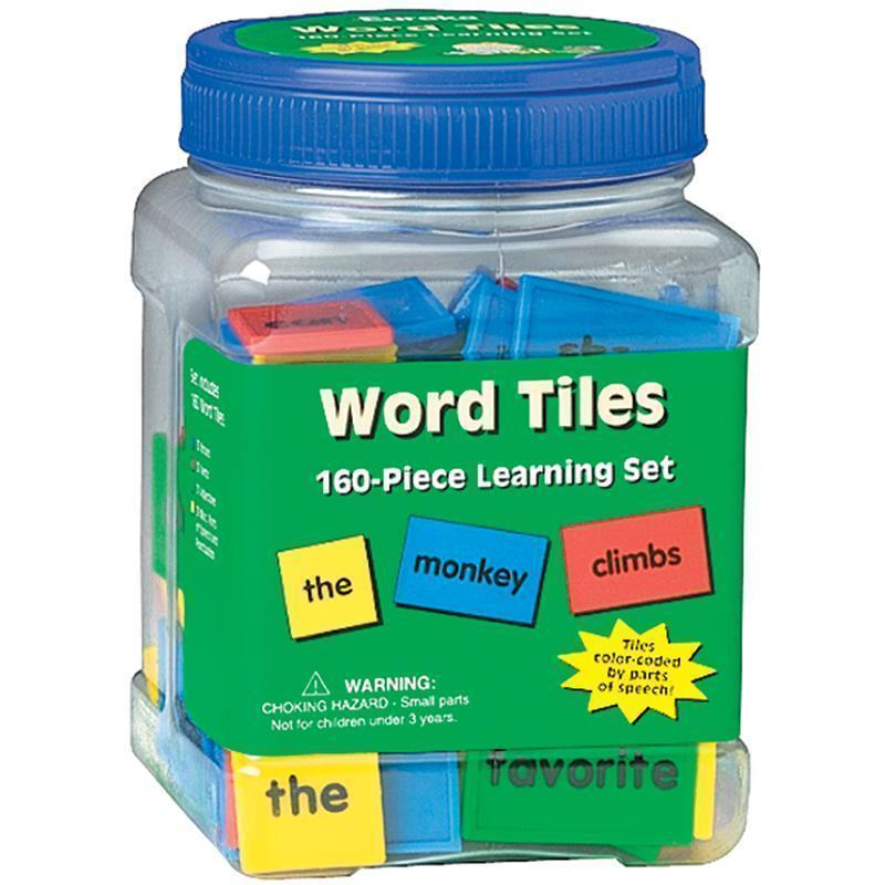Learning Materials Word Tiles Parts Of Speech 160/Pk EUREKA