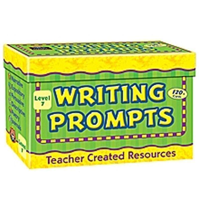 Learning Materials Writing Prompts Gr 7 TEACHER CREATED RESOURCES