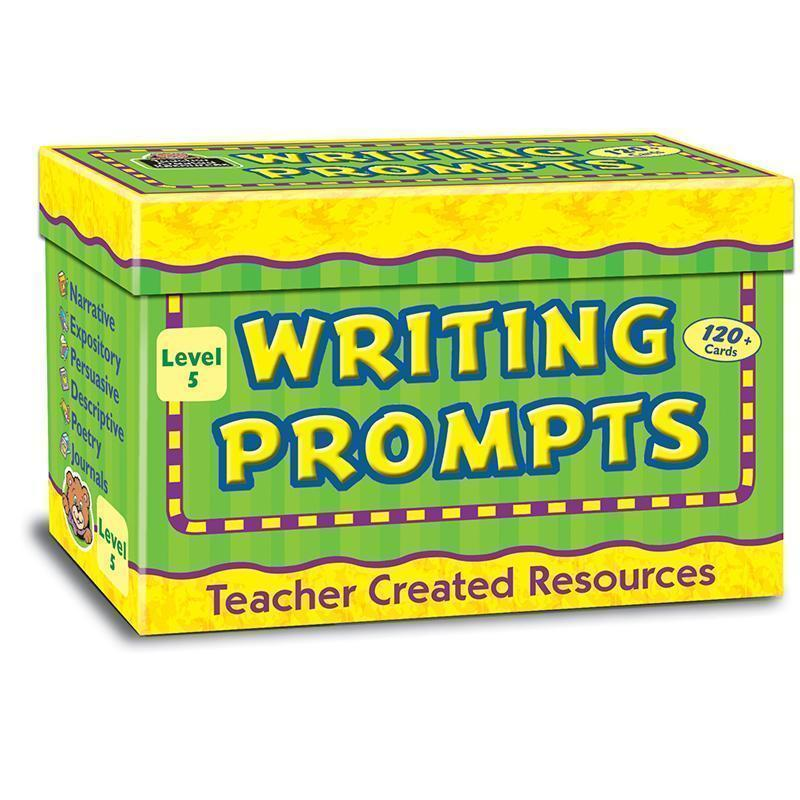 Learning Materials WRITING PROMPTS LEVEL 5 TEACHER CREATED RESOURCES