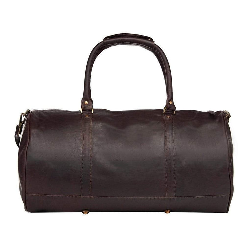 Leather Bags The Elegant Duffle (Dark) ML