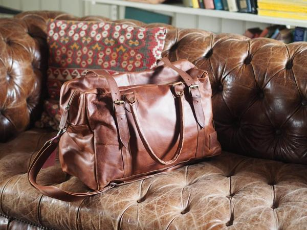 Leather Bags The Stylish Holdall ML