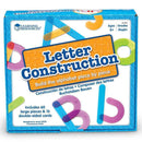 LETTER CONSTRUCTION ACTIVITY SET-Learning Materials-JadeMoghul Inc.