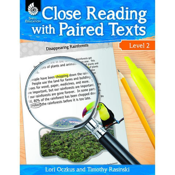 LEVEL 2 CLOSE READING WITH PAIRED-Learning Materials-JadeMoghul Inc.
