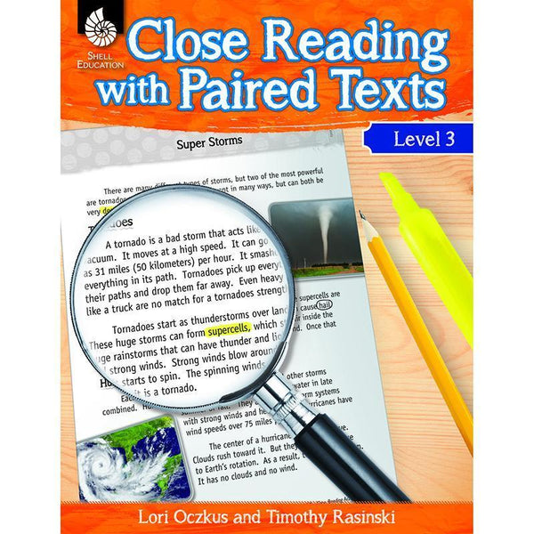 LEVEL 3 CLOSE READING WITH PAIRED-Learning Materials-JadeMoghul Inc.
