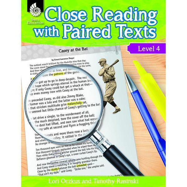 LEVEL 4 CLOSE READING WITH PAIRED-Learning Materials-JadeMoghul Inc.