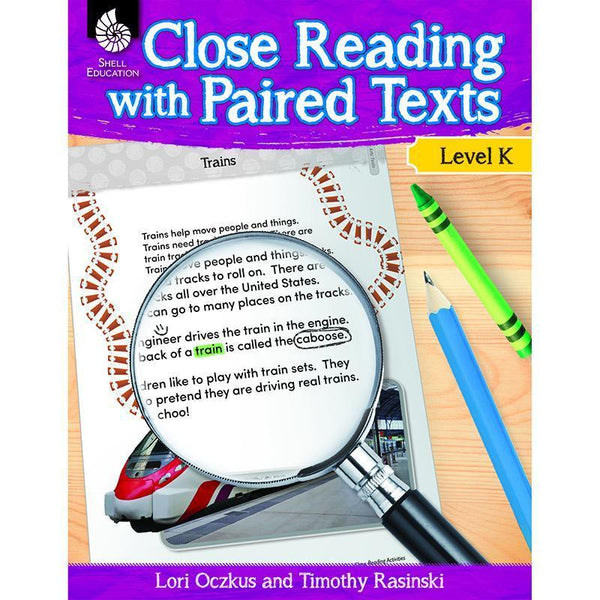 LEVEL K CLOSE READING WITH PAIRED-Learning Materials-JadeMoghul Inc.