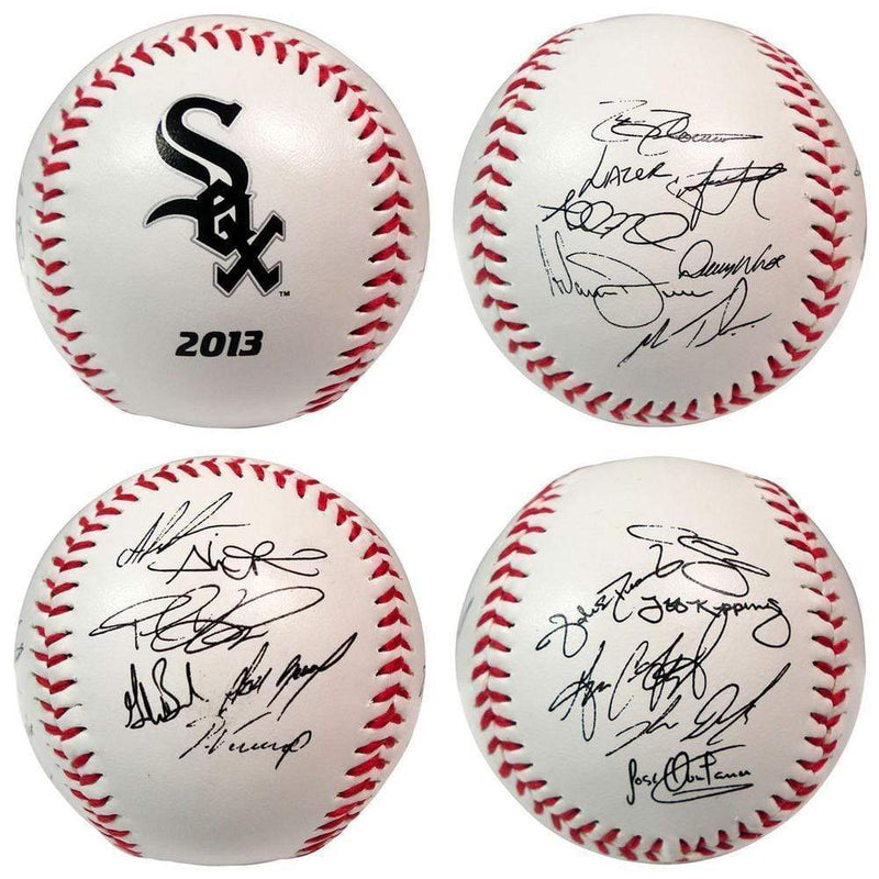 LICENSED NOVELTIES The Licensed Products MLB 2013 Team Roster Signature Ball - Chicago White Sox The Licensed Products Company