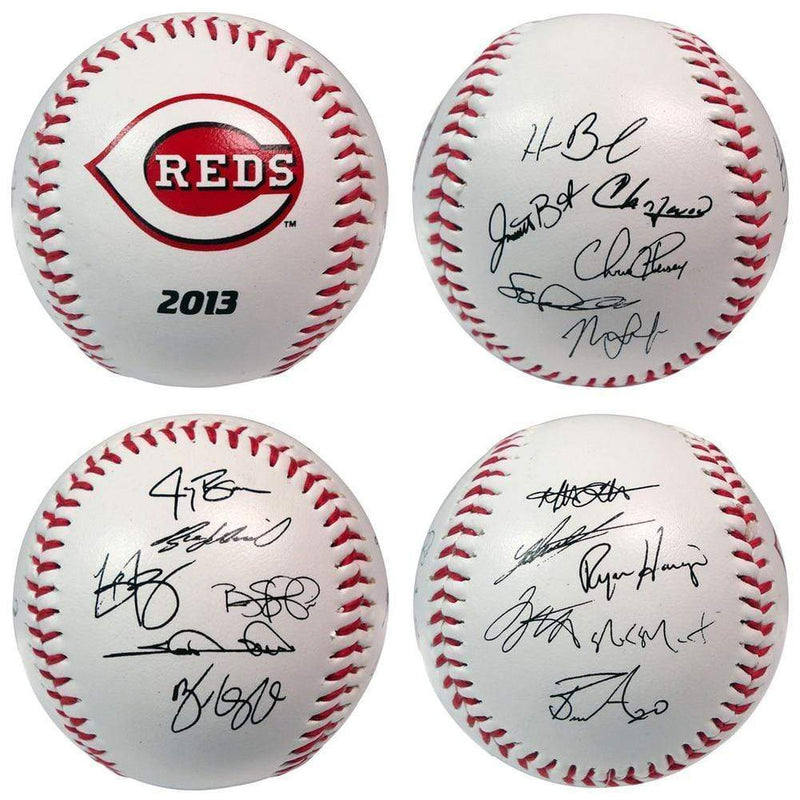 LICENSED NOVELTIES The Licensed Products MLB 2013 Team Roster Signature Ball - Cincinnati Reds The Licensed Products Company
