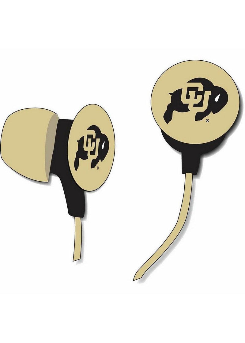 LICENSED NOVELTIES University Of Colorado Ear Buds Zeikos iHip