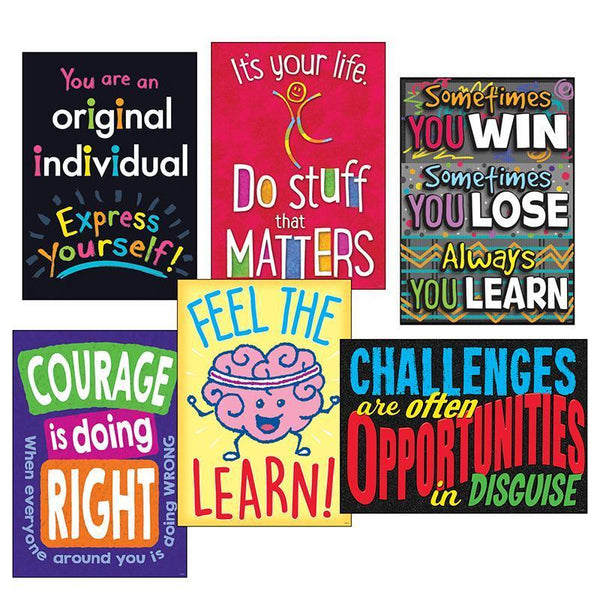 LIFE LESSONS ARGUS POSTER COMBO PK-Learning Materials-JadeMoghul Inc.