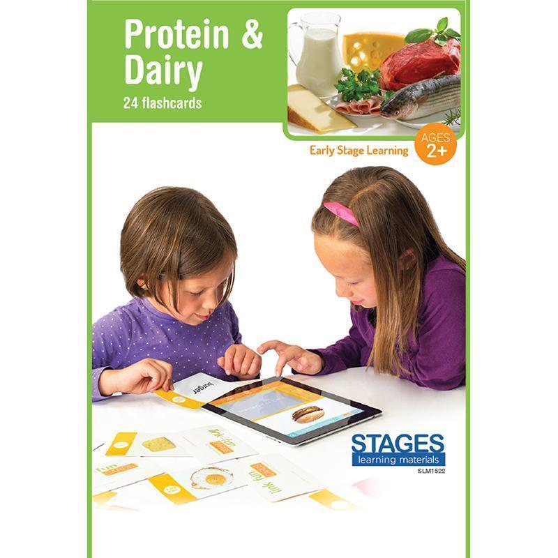 LINK4FUN PROTEIN/DAIRY CARDS-Learning Materials-JadeMoghul Inc.