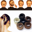 LNRRABC 1pc Women Hair Accessories Hair Curls Bun Hair Band Hair Twist Styling Synthetic Wig Braid Tools Bun Maker Drop Shipping-1-One Size-JadeMoghul Inc.