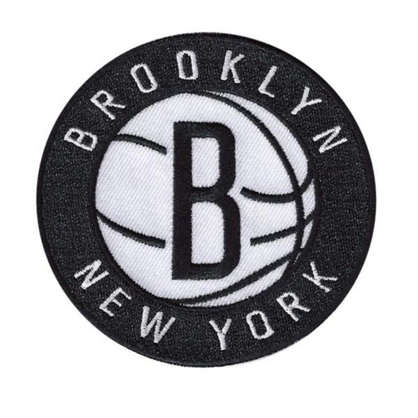 Logo Patch - Brooklyn Nets-NBA-JadeMoghul Inc.