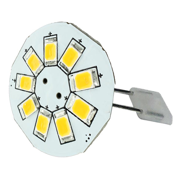 "Lunasea G4 Back Pin 0.9"" LED Light - Cool White [LLB-21BC-21-00]-Bulbs-JadeMoghul Inc."