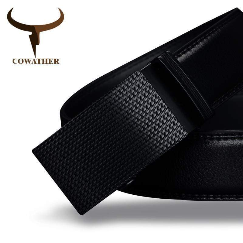 Luxury High Quality Genuine Cow Leather Men Belt AExp