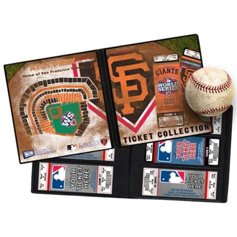 Major League Baseball-2012 World Series Ticket Album - San Francisco Giants-MLB-JadeMoghul Inc.