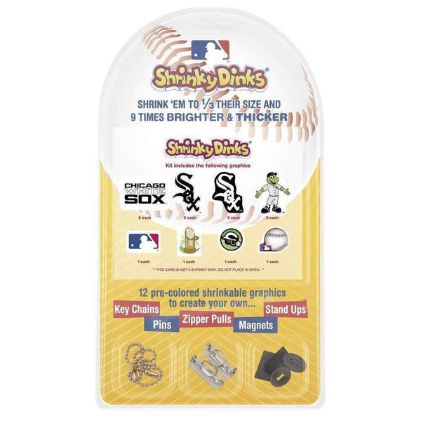 Major League Baseball-Chicago White Sox Shrinky Dinks-MLB-JadeMoghul Inc.