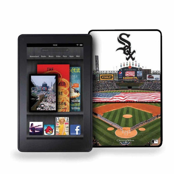 Major League Baseball-Kindle Fire Vintage Baseball Cover - Chicago White Sox-MLB-JadeMoghul Inc.