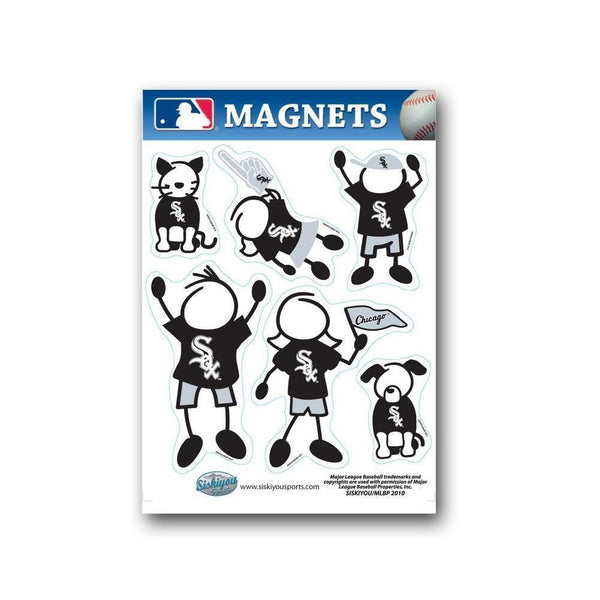 Major League Baseball-MLB Chicago White Sox Family Magnet Set-MLB-JadeMoghul Inc.