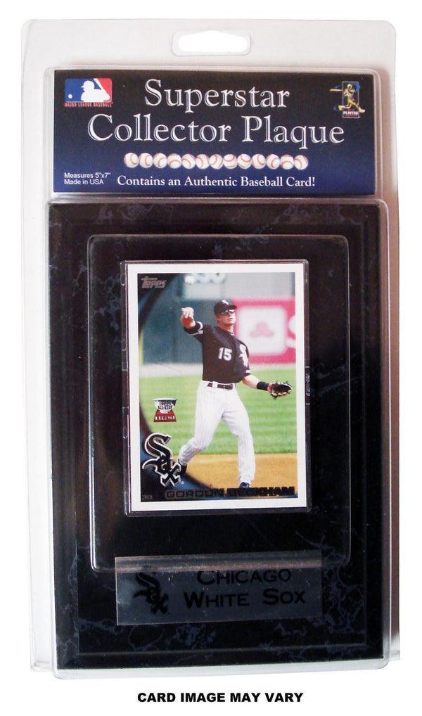 Major League Baseball-MLB Chicago White Sox Gordon Beckham Card Plaque-MLB-JadeMoghul Inc.