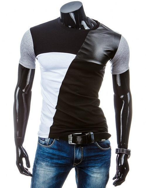 Man Casual T-shirt Men Cotton T Shirt Military Mens T Shirts Fashion Tees T81-Black 1-M-JadeMoghul Inc.