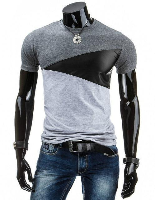 Man Casual T-shirt Men Cotton T Shirt Military Mens T Shirts Fashion Tees T81-Dark Gray-M-JadeMoghul Inc.