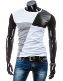 Man Casual T-shirt Men Cotton T Shirt Military Mens T Shirts Fashion Tees T81-White 1-M-JadeMoghul Inc.