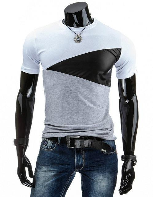 Man Casual T-shirt Men Cotton T Shirt Military Mens T Shirts Fashion Tees T81-White-M-JadeMoghul Inc.