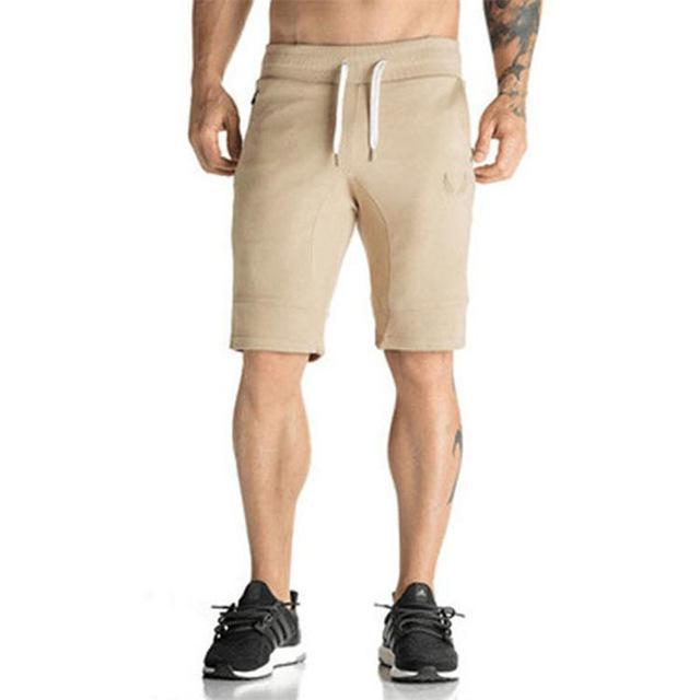 Man Shorts Men's Short Trousers 2016 Casual Calf-Length Jogger Mens Shorts Sweatpants Fitness Man Workout Cotton Shorts-ZDK01Y-M-JadeMoghul Inc.