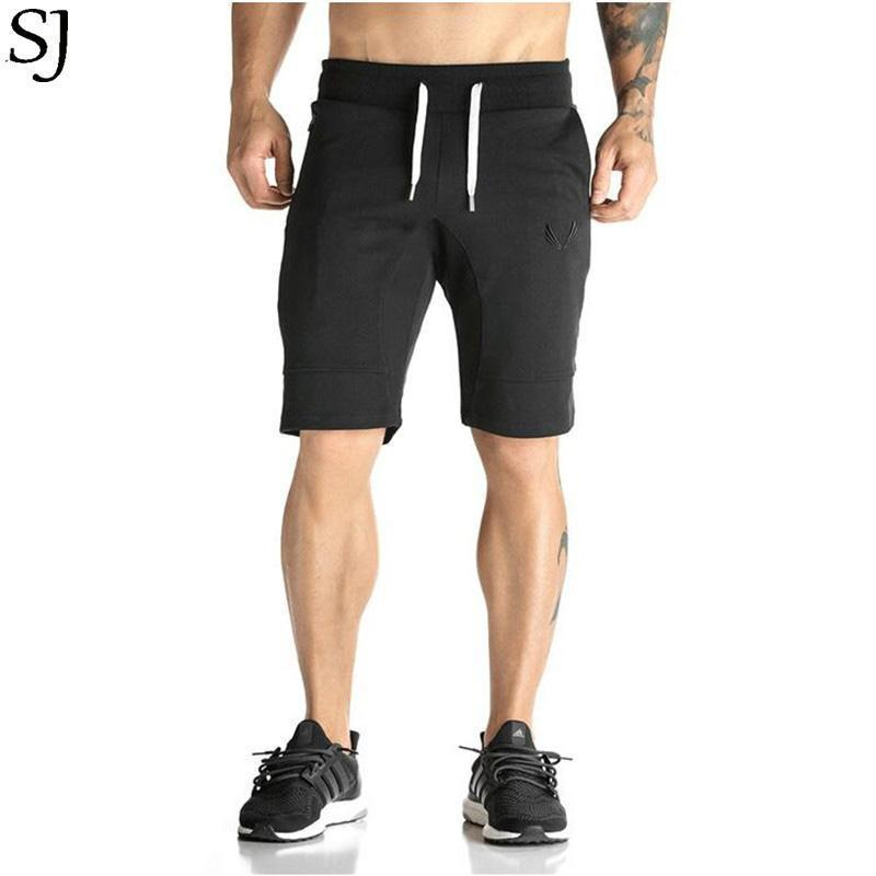 Man Shorts Men's Short Trousers 2016 Casual Calf-Length Jogger Mens Shorts Sweatpants Fitness Man Workout Cotton Shorts-ZDK1MC-M-JadeMoghul Inc.