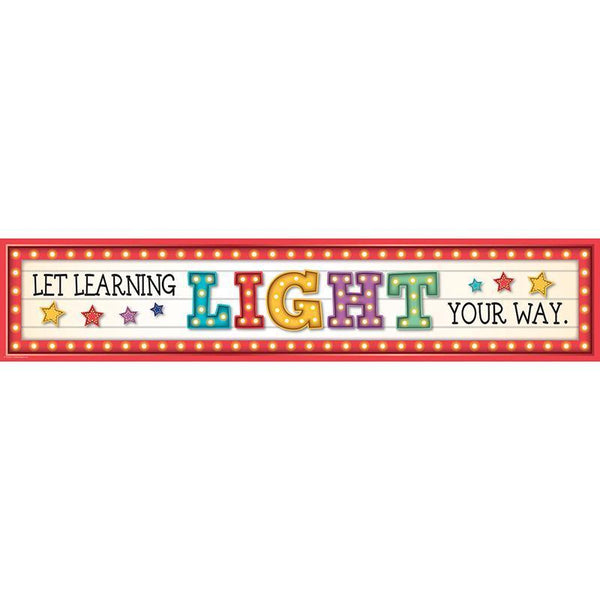 MARQUEE LRNING LGHT YOUR WAY BANNER-Learning Materials-JadeMoghul Inc.