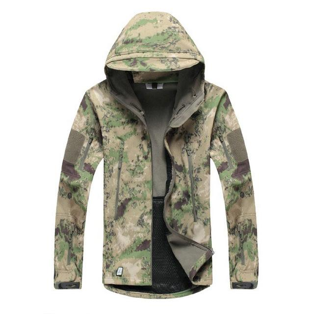 Men Army Camouflage Military Tactical Jackets / Waterproof Windbreaker Raincoat-ATA FG-S-China-JadeMoghul Inc.