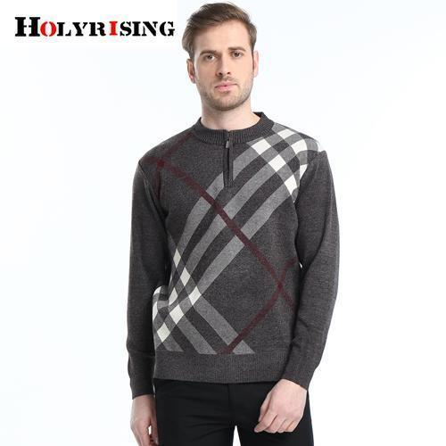 Men Casual High Quality Winter Pullover-coffee-M-JadeMoghul Inc.