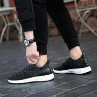 Men Casual Shoes / Breathable Men Shoes-1918 Black-7-JadeMoghul Inc.