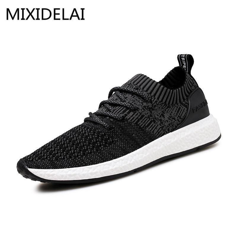 Men Casual Shoes / Breathable Men Shoes-Blue-7.5-JadeMoghul Inc.