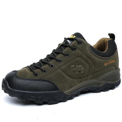 Men Comfortable Casual Outdoor Flat Shoes-513 Army Green-5.5-JadeMoghul Inc.