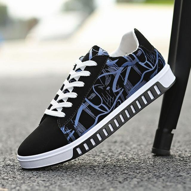 Men Fashion Canvas Shoes / Lace Up Outdoor Casual Shoes-Style 18-10-JadeMoghul Inc.