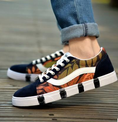Men Fashion Canvas Shoes / Lace Up Outdoor Casual Shoes-Style 2-10-JadeMoghul Inc.