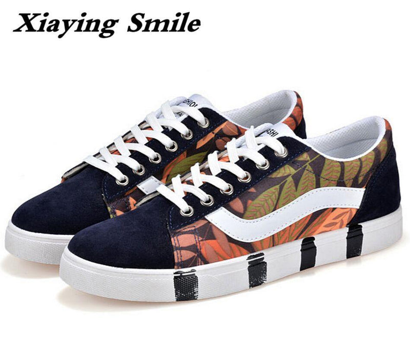 Men Fashion Canvas Shoes / Lace Up Outdoor Casual Shoes-Style 3-10-JadeMoghul Inc.