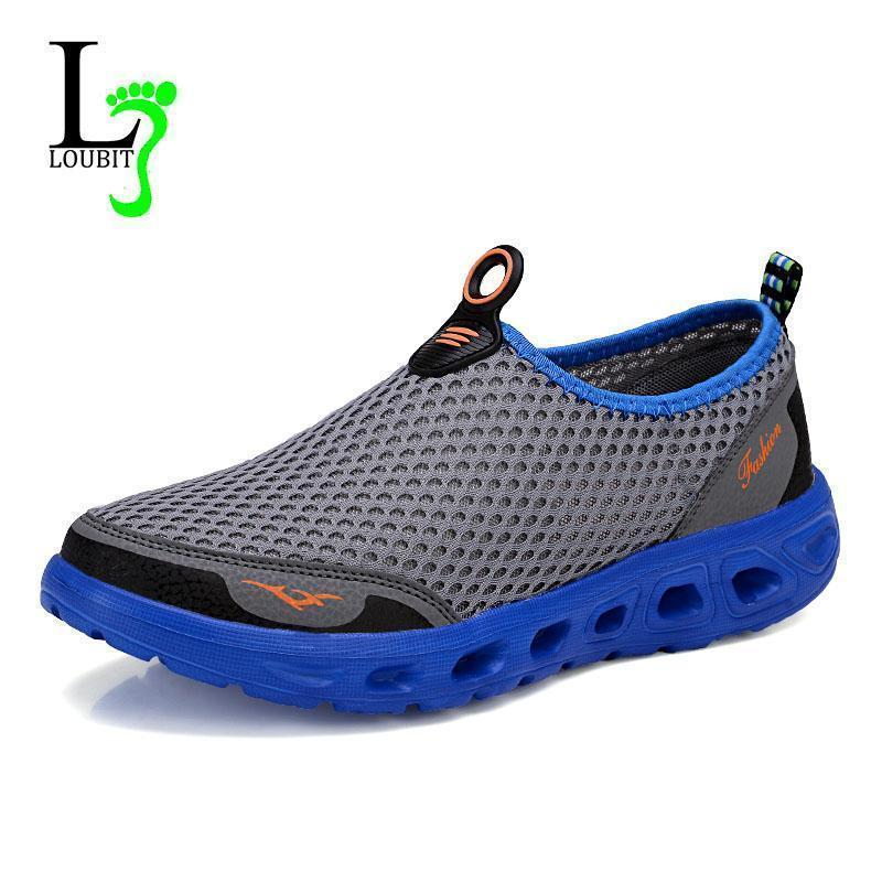 Men Fashion High Quality Breathable Slip Ons-Gray-6.5-JadeMoghul Inc.