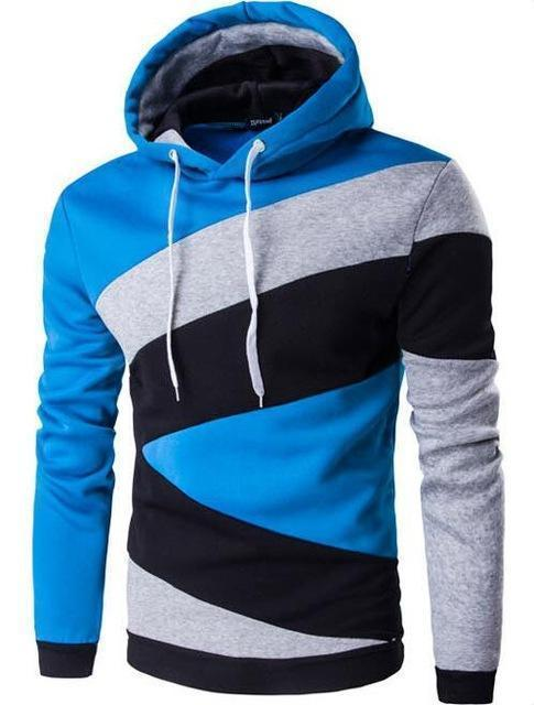 Men Hoodie / Slim Fit Men Hoody-Hu lan-M-JadeMoghul Inc.