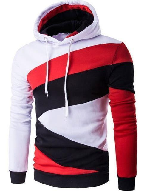 Men Hoodie / Slim Fit Men Hoody-White-M-JadeMoghul Inc.