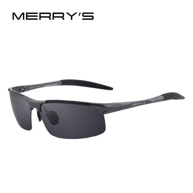 Men Polarized Sunglasses / Aviation Sun Glasses-C02 Gray-JadeMoghul Inc.