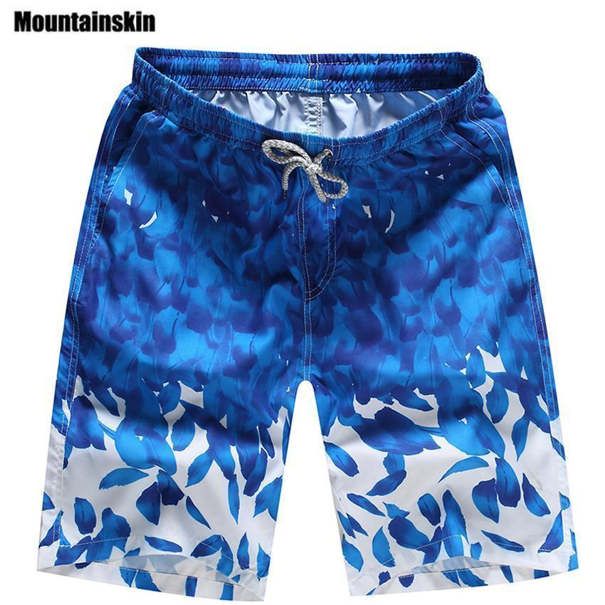 New Cartoon Fashion Flag Of Guam Shorts Beach Casual Shorts For Man