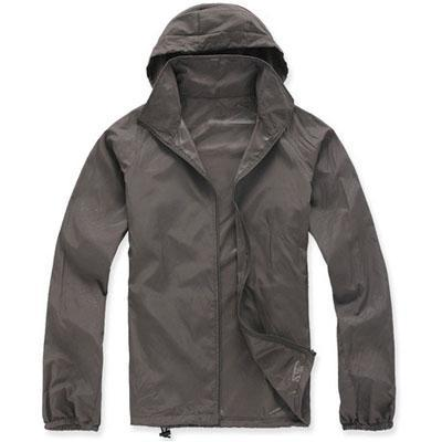 Men Quick Dry Skin Jacket / Ultra-Light Casual Windbreaker / Waterproof Clothing-Dark Grey-XS-JadeMoghul Inc.