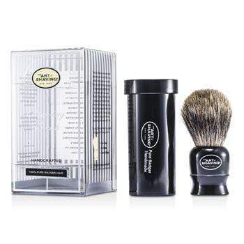 Men's Skin Travel Pure Badger - Black - 1pc The Art Of Shaving