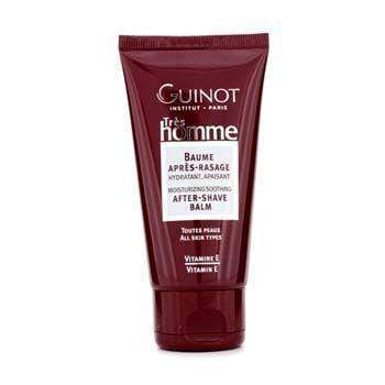 Men's Skin Tres Homme Moisturizing And Soothing After-Shave Balm Guinot