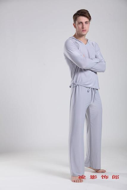 Men Sleepwear Pajama / Sleepwear Casual Pants-Tops and pants 2-S-JadeMoghul Inc.