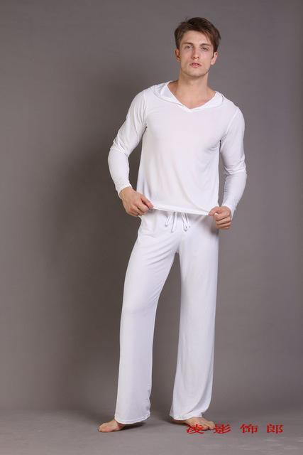 Men Sleepwear Pajama / Sleepwear Casual Pants-Tops and pants 3-S-JadeMoghul Inc.