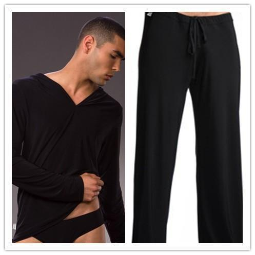 Men Sleepwear Pajama / Sleepwear Casual Pants-Tops and pants-S-JadeMoghul Inc.